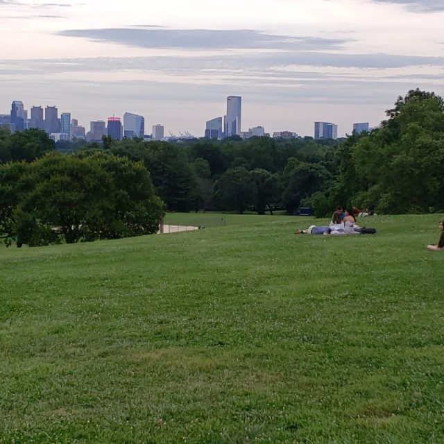 View of Center City from Fairmount Park