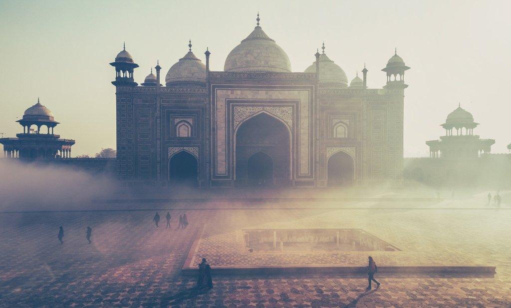 Taj Mahal, India.