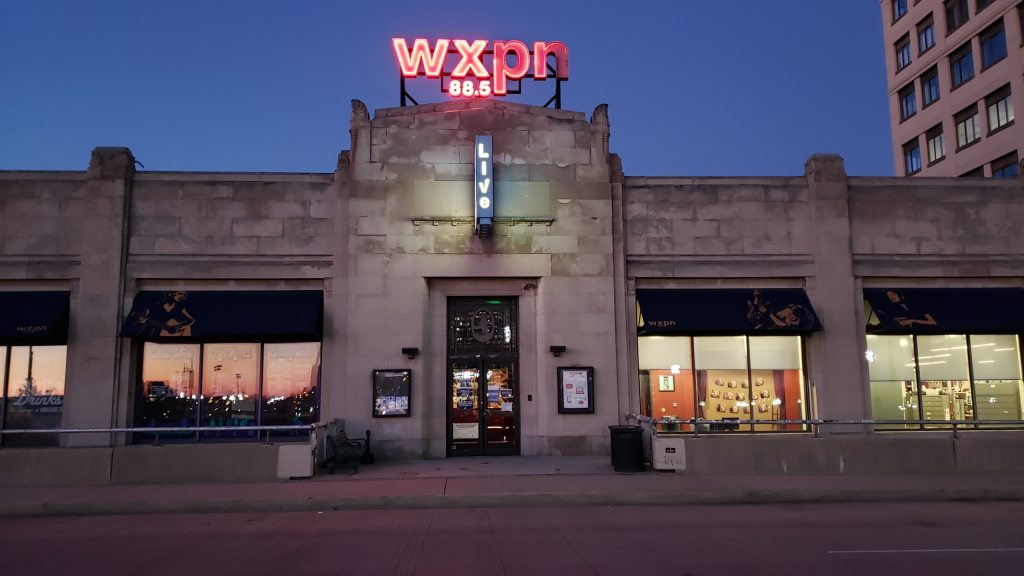 WXPN University City, Philadelphia.