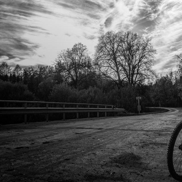Bicycle On Bridge
