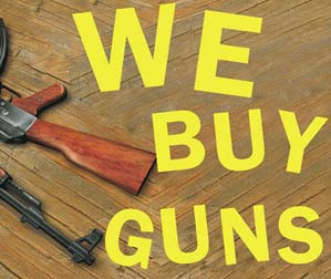 we buy guns