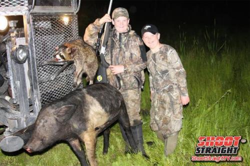 hog hunting shoot straight tv