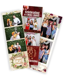 Professional Singapore Photobooth Wedding