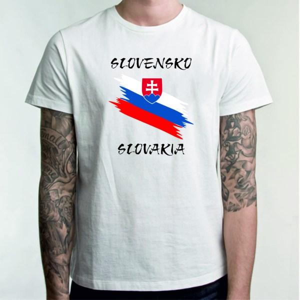 Slovensko biela