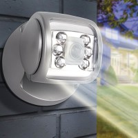 Wireless LED Motion Sensor Porch Light