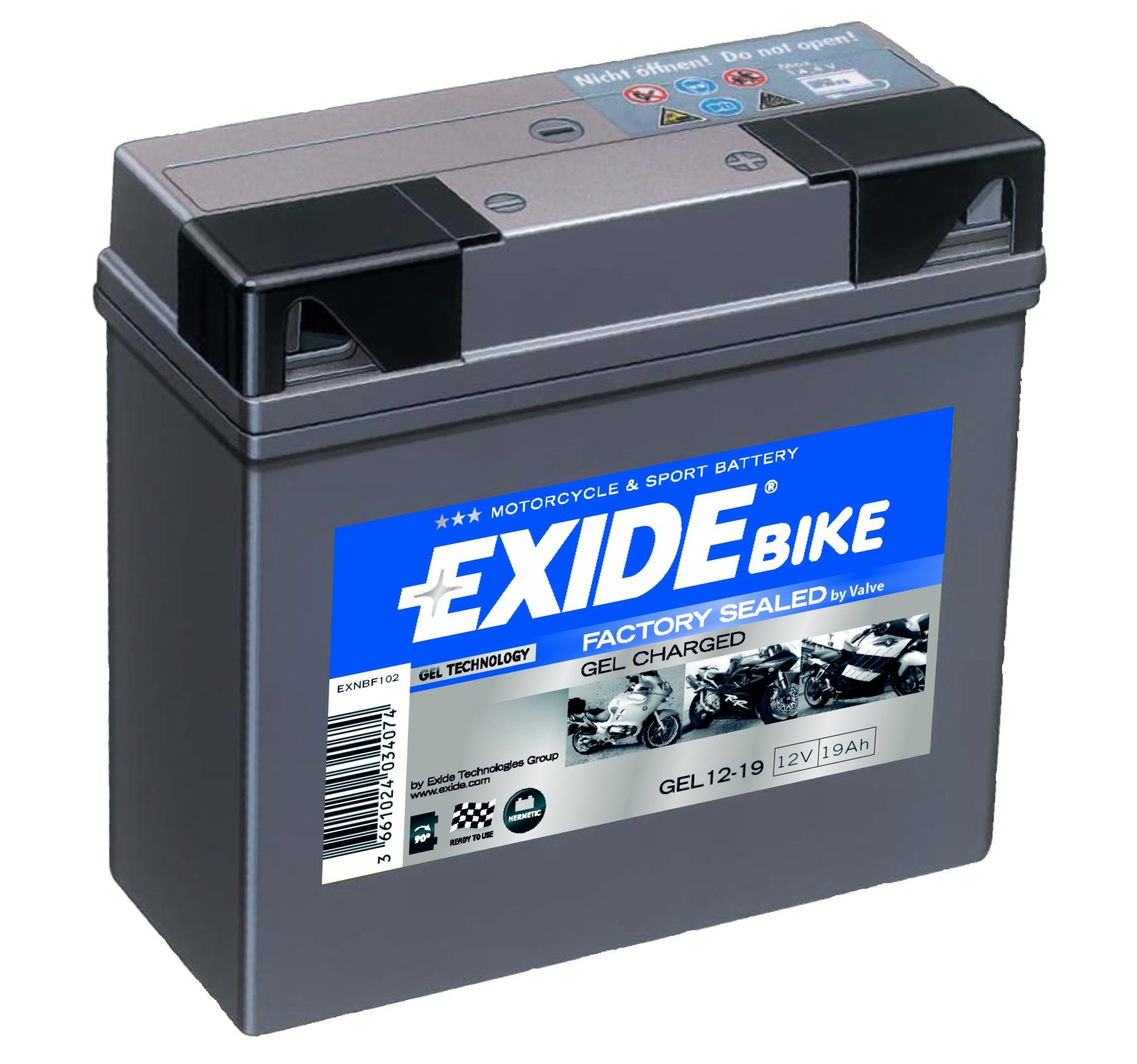 12 volt und 7 anper batterien gell parts of a window frame diagram exide gel g19 12v 19ah batterie ecke batterieservice
