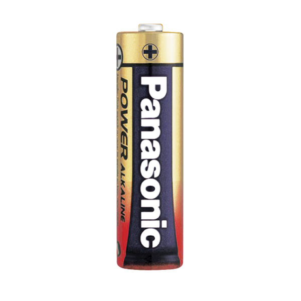 Pile Alcaline Panasonic LR6 AA