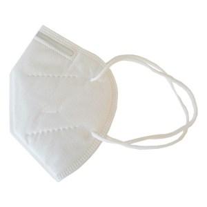 Masque de protection type ffp2 filtrant respiratoire