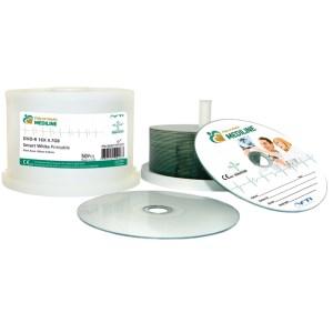 DVD-R grade médical Splincers de 100 CD imprimables sous cloches