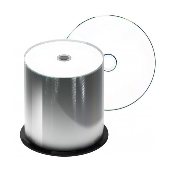 CD-R imprimable pour robot Splindlers de 100 CD-R grade médical imprimables sous cloches