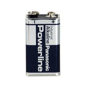 Pile Alcaline Powerline 6LR61 Panasonic