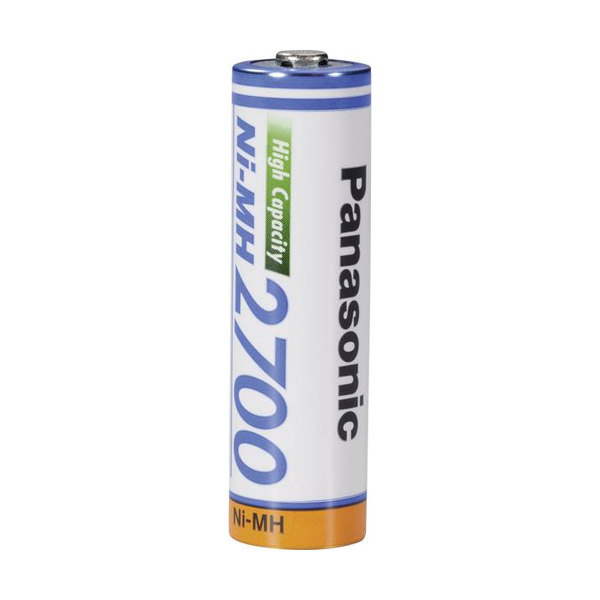 Pile rechargeable ni-mh 2700 aa/HR6