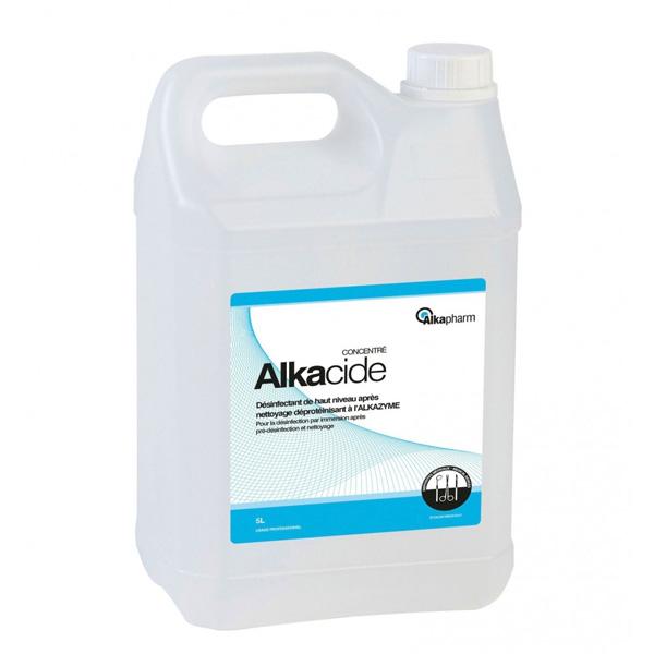 Alkacide désinfectant à froid bidon 5 litres
