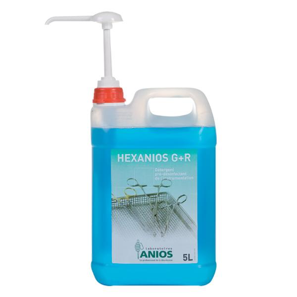 hexanios g r détergent prédésinfectant