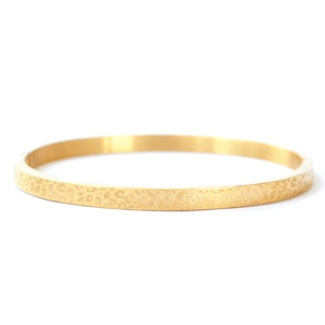 Bangle leopard gold