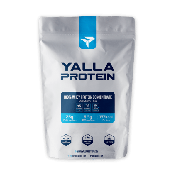 whey-protein-concentrate-strawberry-yalla-protein-supplement-omega-3-bcaa-benefits-rear_1