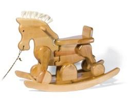 Birkenholz Spielzeug Pferd — Sparstarmma.com