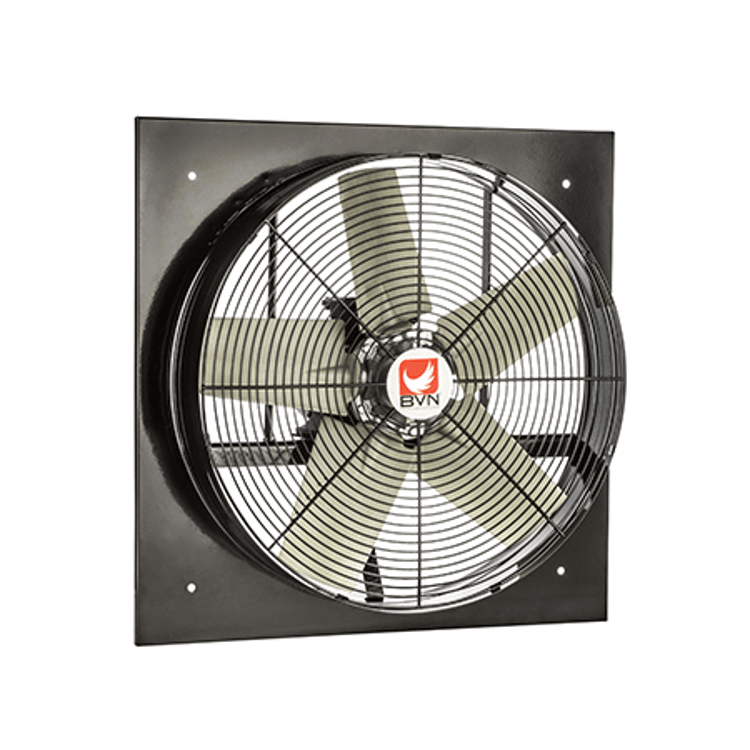 exhaust fan square wall mounted