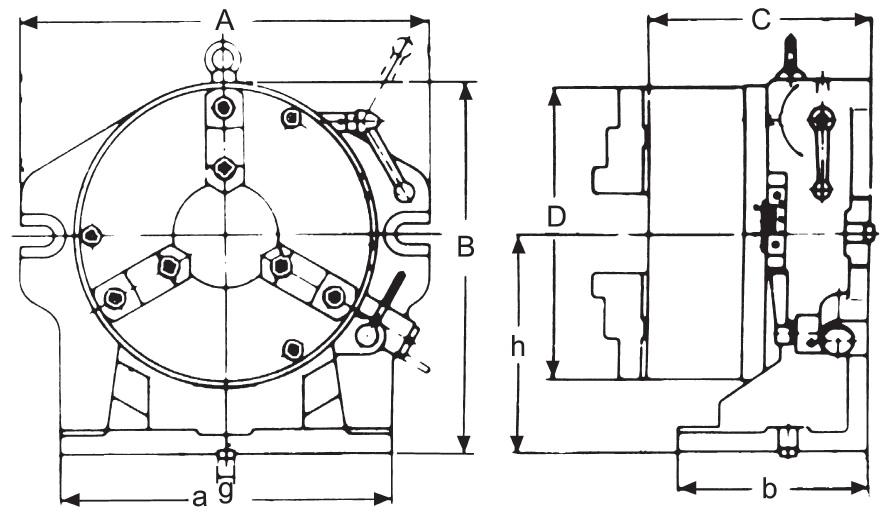 Indexing fixtures type TA-310-ZE-TA-310