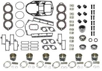 Powerhead Rebuild Kit Johnson & Evinrude V6 185-225hp 1985