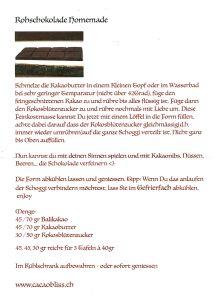Schokolade Selber Machen Anleitung