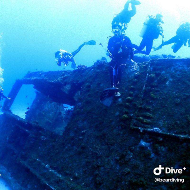 小琉球-熊潛水