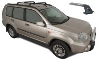 How to install nissan x trail roof racks