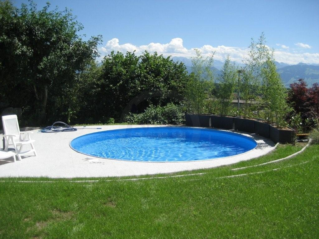 Stahl Pool Rund Perfect With Stahl Pool Rund Good