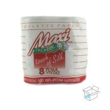 Maxi, Ρόλοι Υγείας Deco 65gr, 2φ, Συσκευασία 8x8τμχ