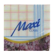 Maxi, Χαρτοπετσέτες Καρώ 33χ33, 80φ
