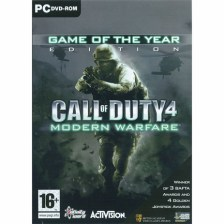 Call Of Duty 4 Modern Warfare Game of The Year - PC Game