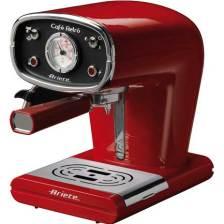 Μηχανή Espresso-Cappuccino Ariete Retro 1388 Red