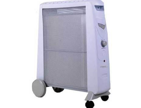 Θερμοπομπός Primo Mica Heater CH6320 2000W Με Ροδάκια Χρώμα Γκρι