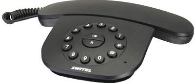 Σταθερό Τηλέφωνο Switel TE 21, Μαύρο