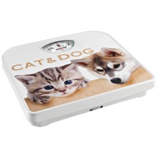 Meliconi 655250 Μηχανική Ζυγαριά Μπάνιου Cat And Dog