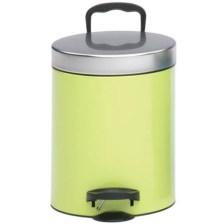 Meliconi 140055 Μεταλλικός Κάδος Απορριμμάτων 5lt Verde