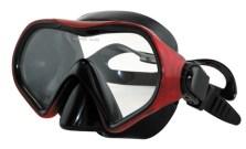 Μάσκα Vera BK Red Χρώμα Κόκκινο-Μαύρο (61018)