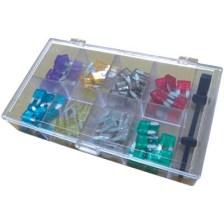 Σετ Mini Αυτόματες Ασφάλειες Σε Ακτινική Μορφή, Hq Amf Ass80 Mini