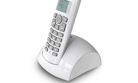 Ασύρματο Τηλέφωνο Osio OSD-8610GW, Λευκό