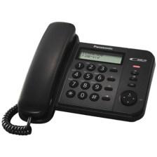 Σταθερό Τηλέφωνο Panasonic KX-TS560EX2B, Μαύρο