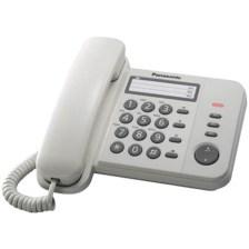 Σταθερό Τηλέφωνο Panasonic KX-TS520EX2W, Λευκό