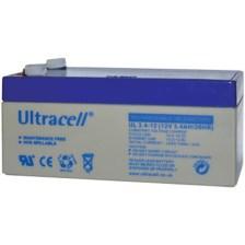 Μπαταρία μολύβδου Ultracell 12V 3.4Ah