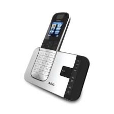 Ασύρματο Τηλέφωνο με Τηλεφωνητή AEG D575, Μαυρο/Ασημί