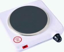Ηλεκτρική Εστία ANKOR TH-02G 1000W 15,5cm Λευκό 742875