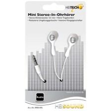 Ακουστικά Αυτιού Heitech 09001392 , Χρώμα Λευκό