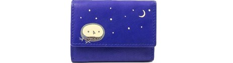 Cozy Γυναικείο Πορτοφόλι Ζωγραφιστό Owl 632, Μπλε