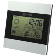 Μετεωρολογικός Σταθμός Με Οθόνη LCD Konig KN-WS 102N