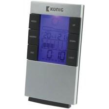 Μετεωρολογικός Σταθμός Με Οθόνη LCD Konig KN-WS 101N