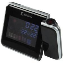 Ρολόι Προβολής Και Μετεωρολογικός Σταθμός 2 Σε 1 Konig KN-WS 103N