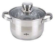 Κατσαρόλα με Γυάλινο Καπάκι Sapir SP-1210-LI26